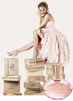 NEW FRAGNANCE BY KYLIE MINOGUE
