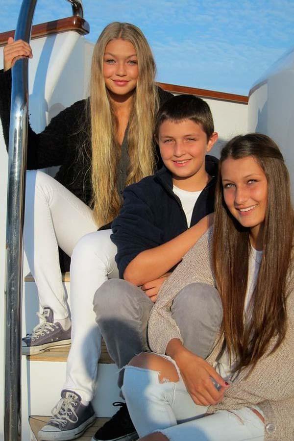 Джиджи и Бела Хадид - преди всичко семейство