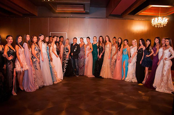 HRISTO CHUCHEV DRESSED CONTESTANTS AT LADY UNIVERSE