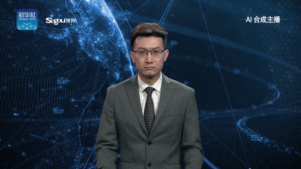 CHINA REVEALS WORLD'S FIRST AI ANCHOR