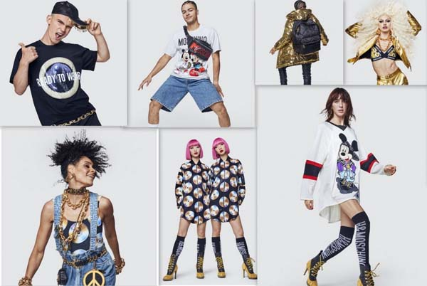 "A LOOK AT THE COOPERATION BETWEEN ""MOSCHINO"" AND ""H&M"""