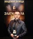 HRISTO CHUCHEV WINS THREE FASHION AWARDS